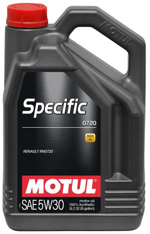 Масло моторное Motul Specific 0720 SAE 5W30 (5л)