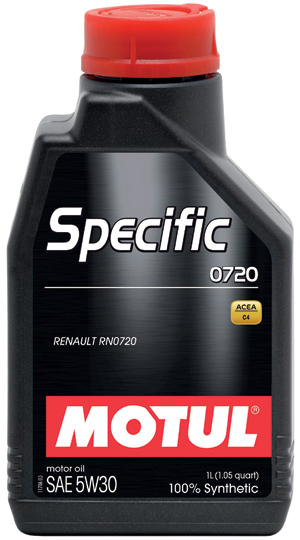 Масло моторное Motul Specific 0720 SAE 5W30 (1л)